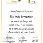 Ringraziamenti Ecologia Iavazzi srl