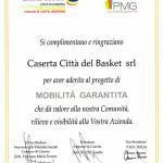 Ringraziamenti Caserta Città del Basket srl